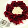 Рецепт салата из свеклы с хреном