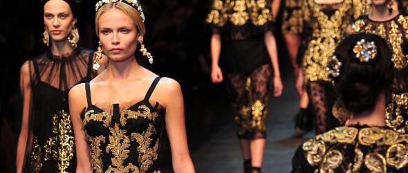 Мода 2013 — одеваемся в стиле барокко