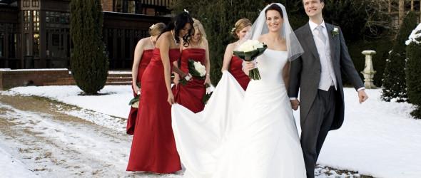 Зимней свадьбе — рождественский стиль