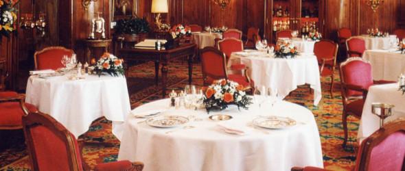 Ресторан Le Chantecler в отеле Negresco