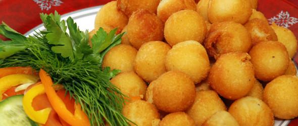 Шарики из картофеля